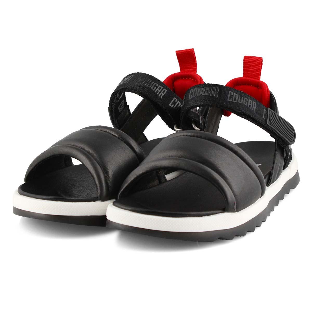 Women's LEONA black sport sandals