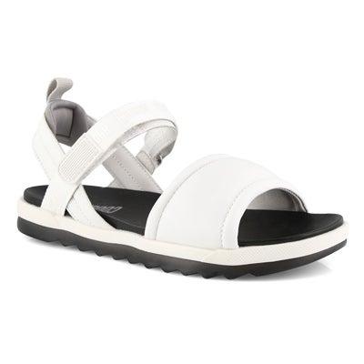 Lds Leona white sport sandals