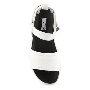 Women's LEONA white sport sandals