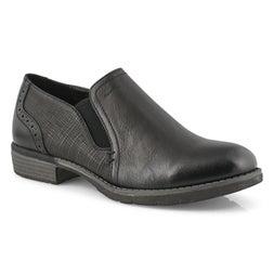 Lds Lindsay blk vegan wtpf slip on shoe
