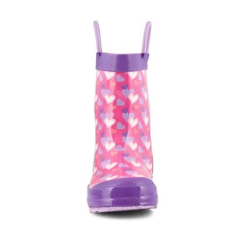 Grls Lovely pink rain boot