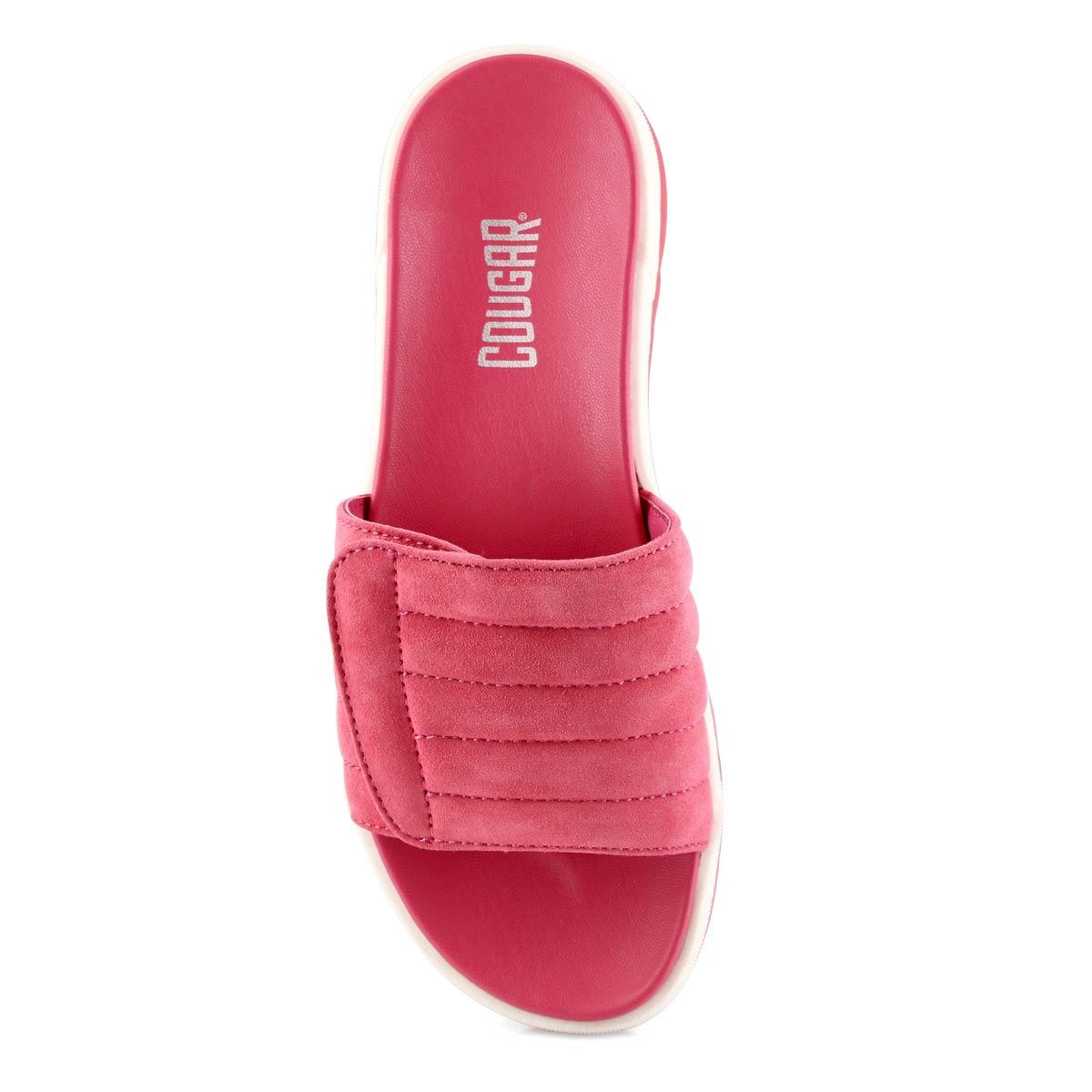 Women's LUPIN rose slide sandals