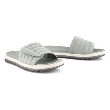 Women's LUPIN sage slide sandals