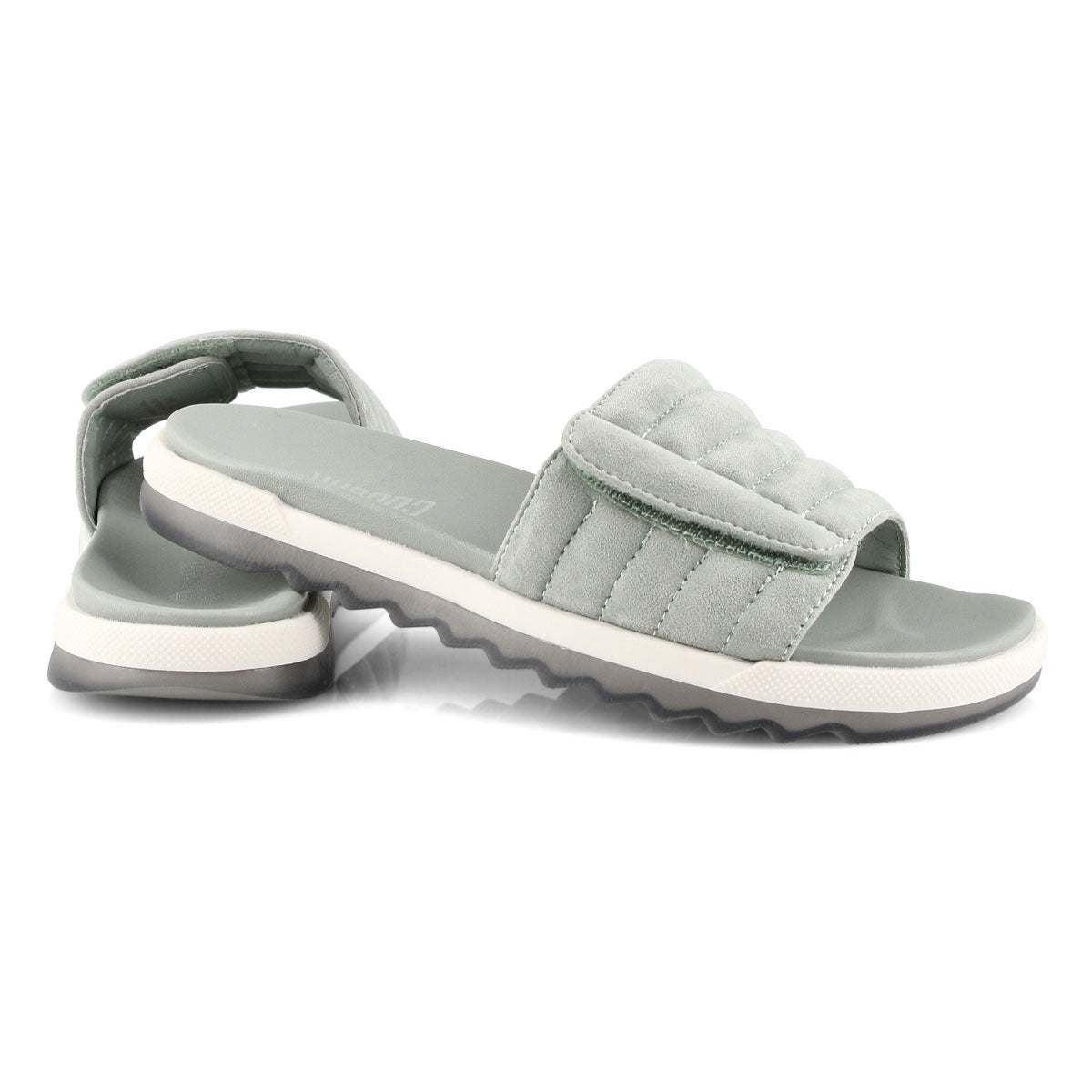 Women's LUPIN sage slide sandals