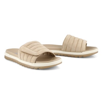 Women's LUPIN sand slide sandals
