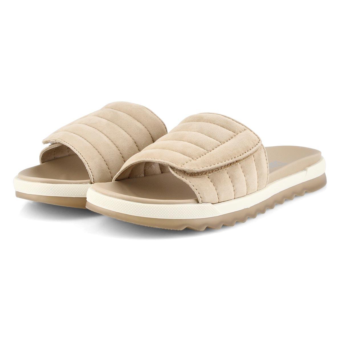 Women's LUPIN sand slide sandals