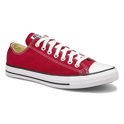Men's CT ALL STAR CORE OX  maroon sneakers