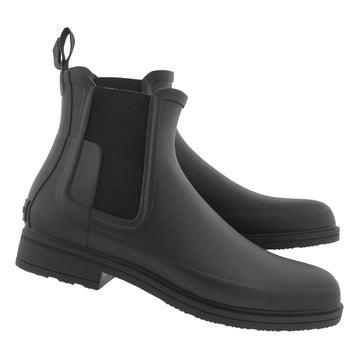 Men's ORIGINAL REFINED chelsea blk rain boots