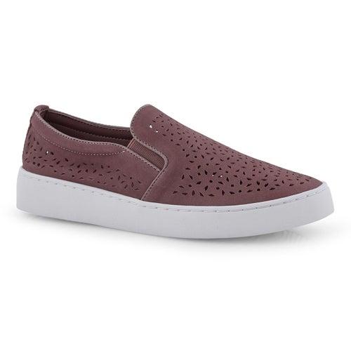 Lds Midi Perf dusk casual slip on shoe