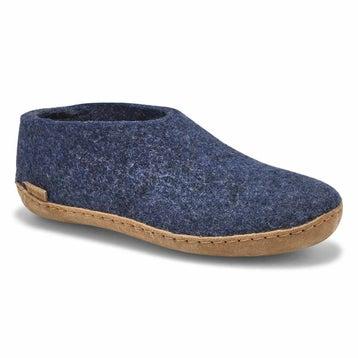 Women's MODEL A denim closed back slippers
