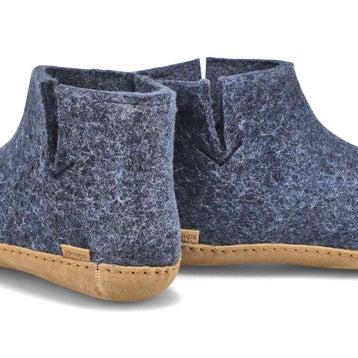 Men's MODEL G denim boot slippers