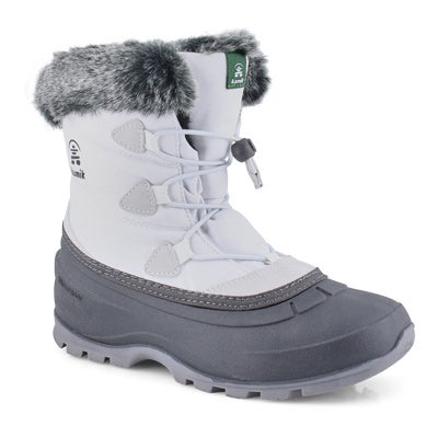 Women's MOMENTUM LO white wtrpf winter boots
