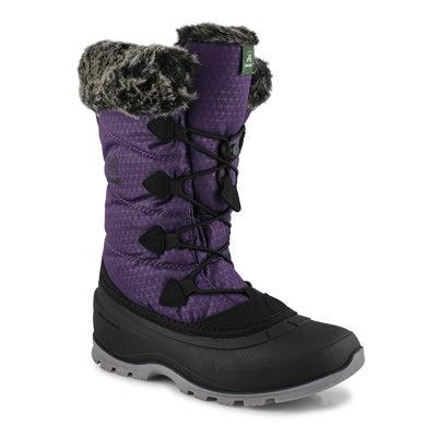 Women's MOMENTUM 2 dk purple waterproof boots