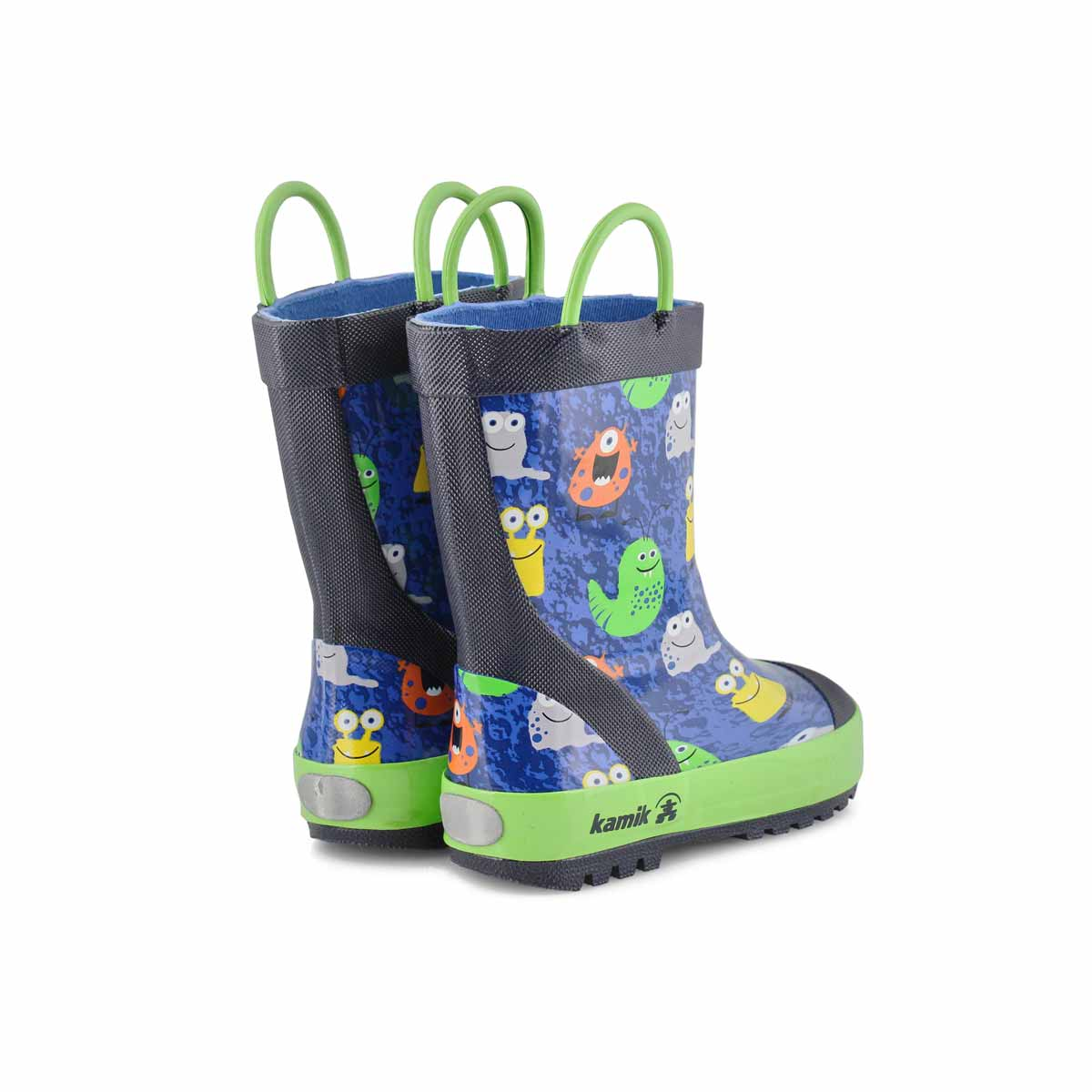 Boys' Monsters Rain Boot - Blue