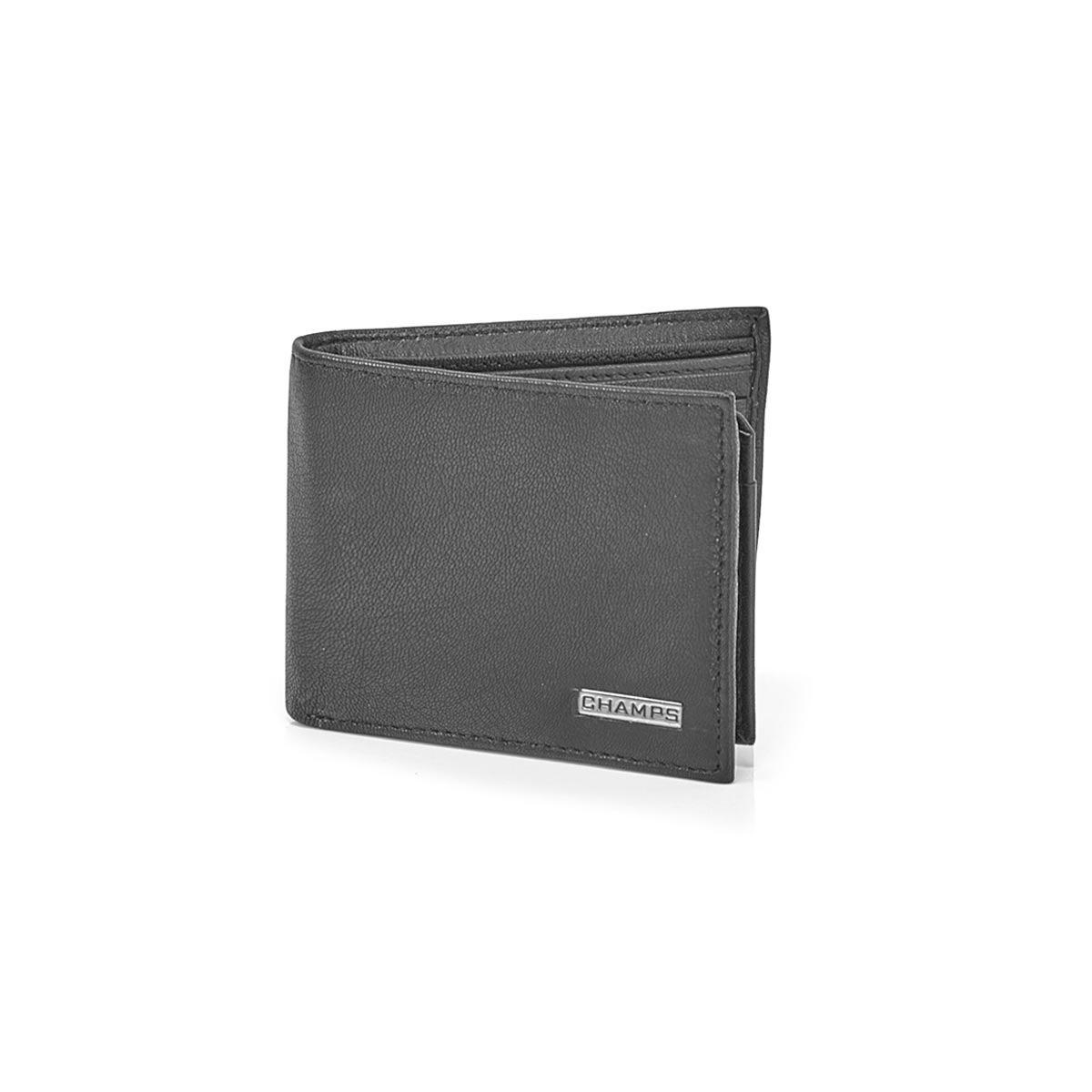 Men's MW-802-BLK cowhide leather wallets