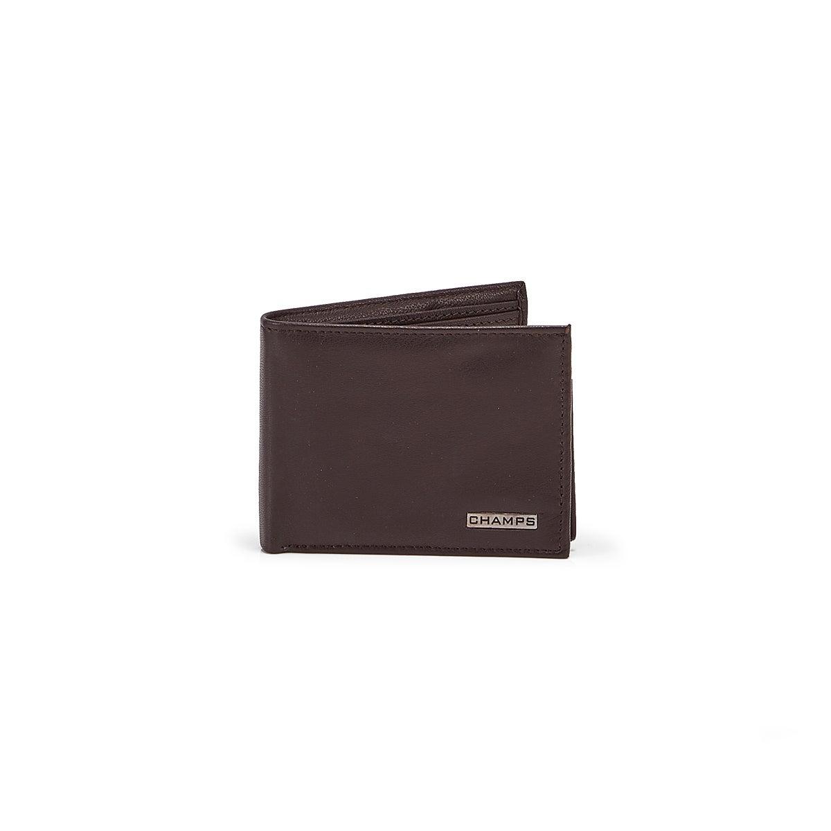Men's MW-805-BRN cowhide leather wallets