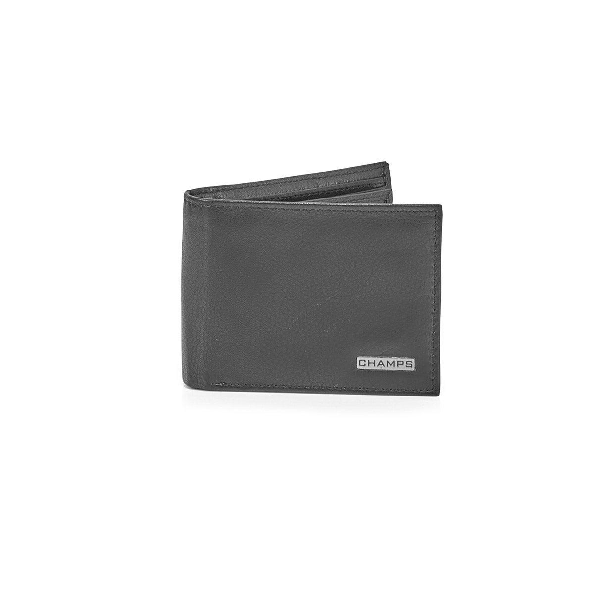 Men's MW-803-BLK cowhide leather wallets