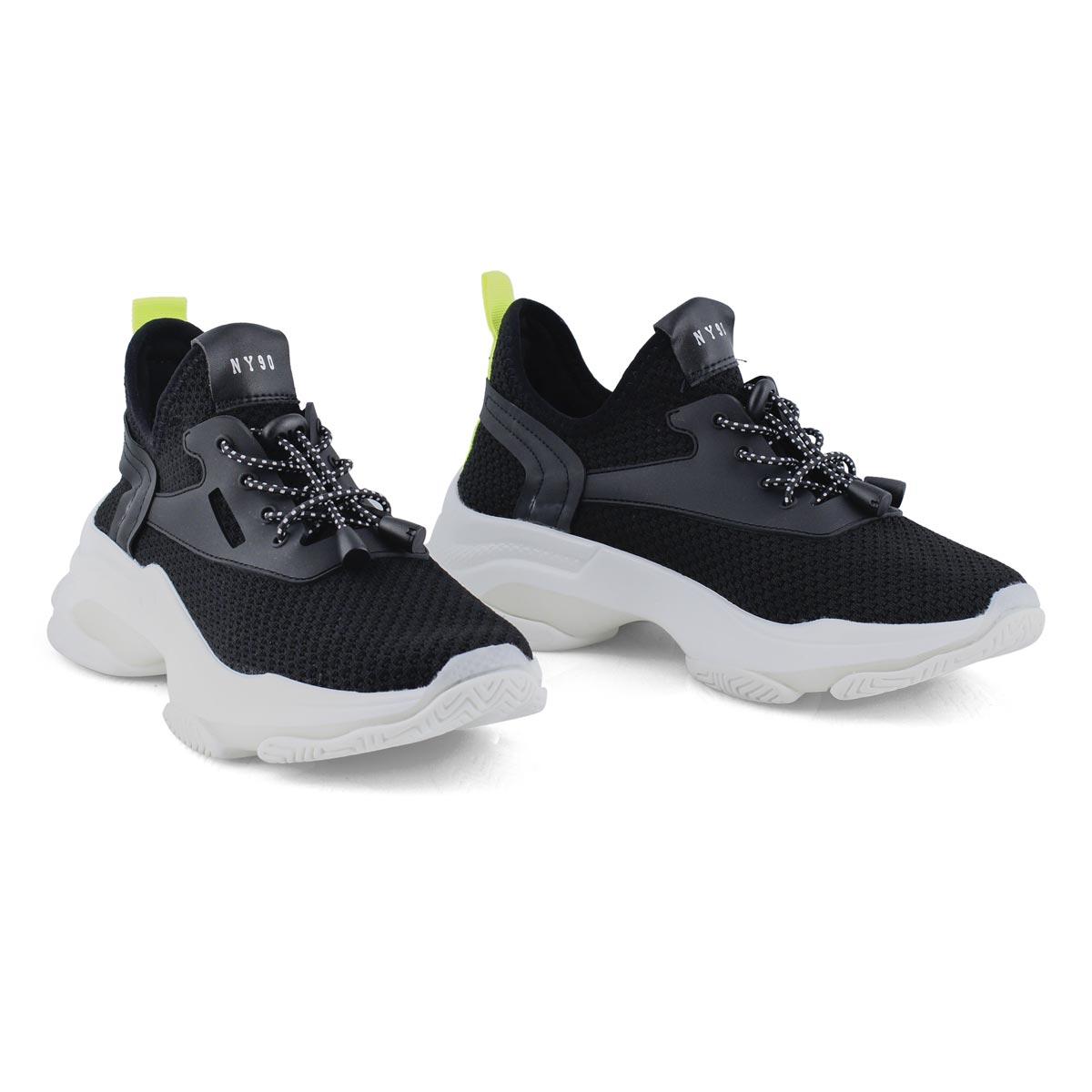 Women's Myles Lace Up Fashion Sneaker - Black
