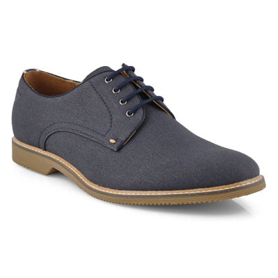 Mns Narvin navy laceup dress oxford