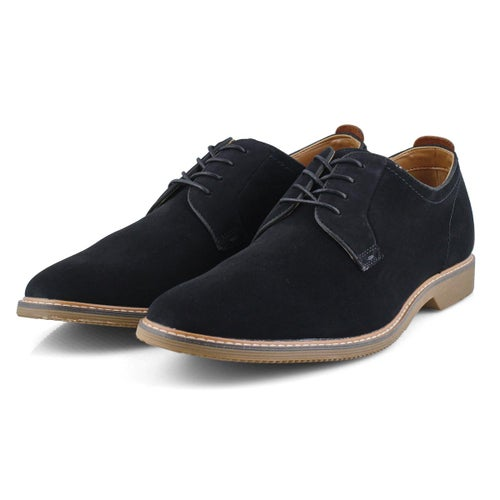 Mns Neeto black casual oxford