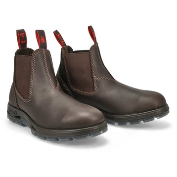 Unisex NEVADA puma aquapel leather pull on boots