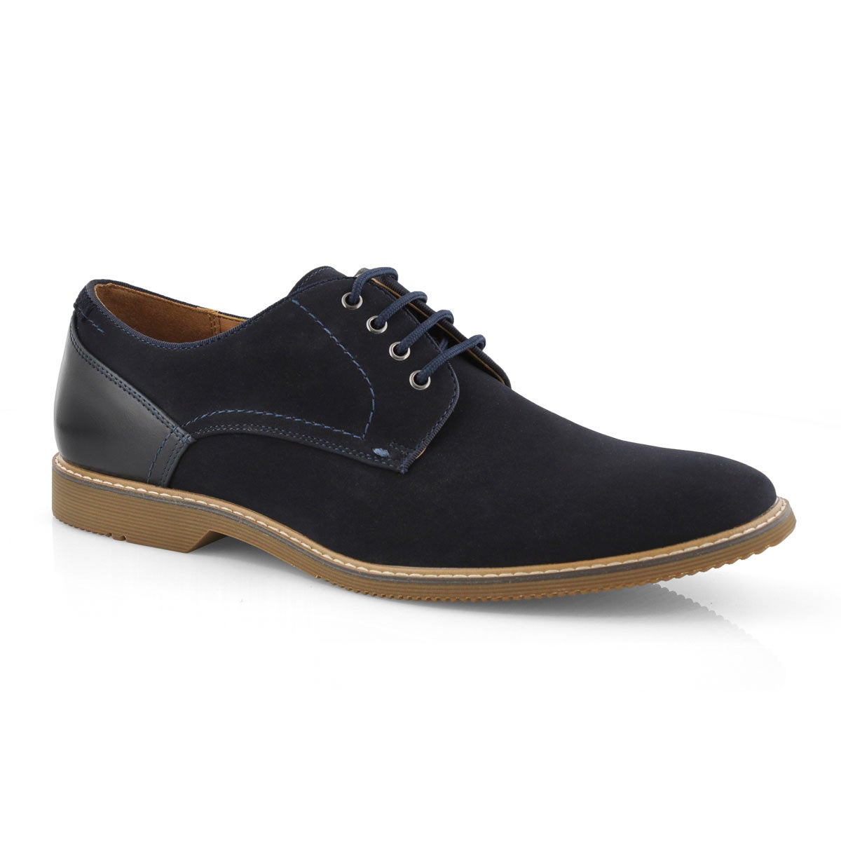 Men's NEWSTEAD navy lace up dress oxfords