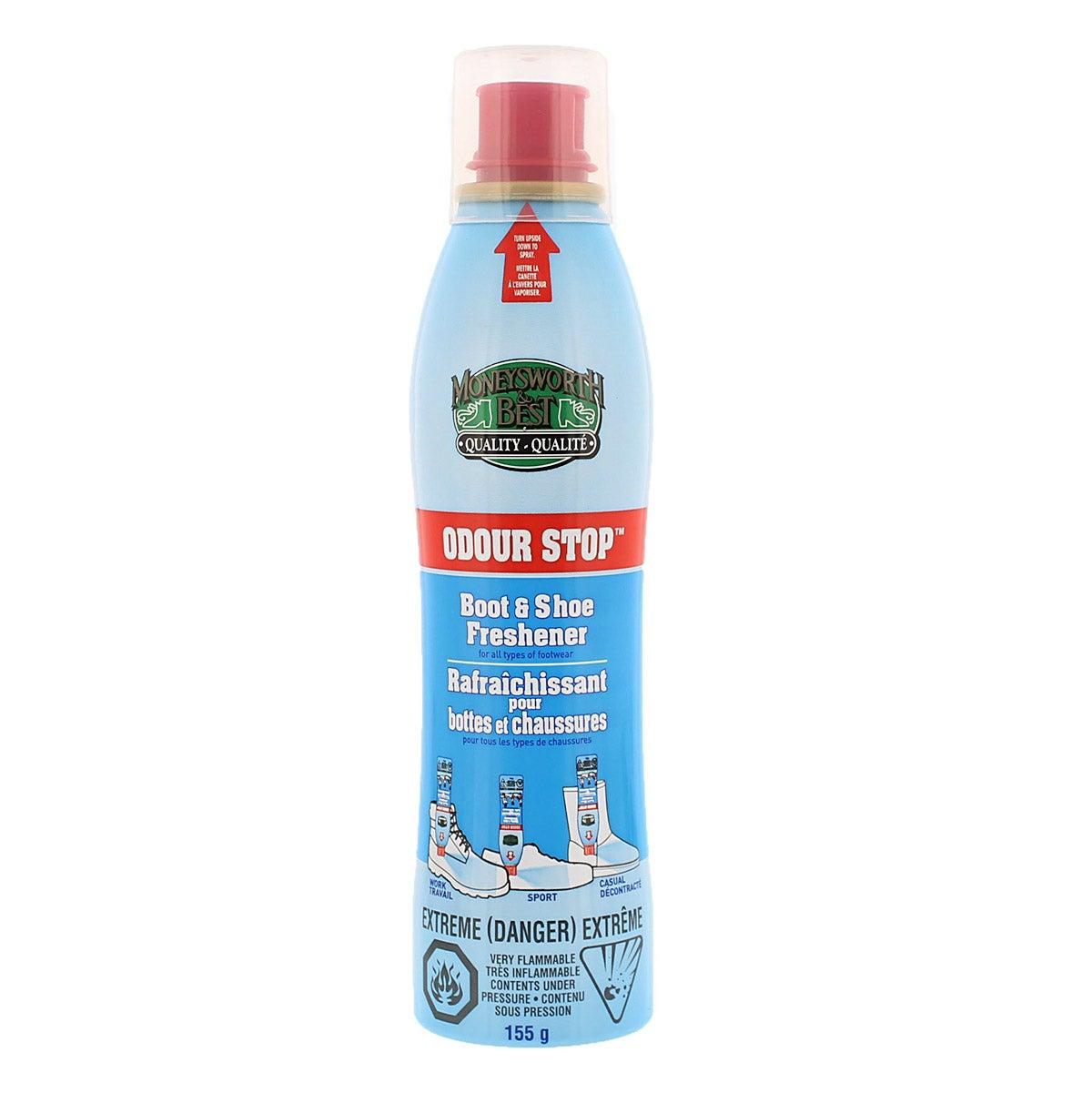 Shoe Care Odor Stop Control Scented Spray