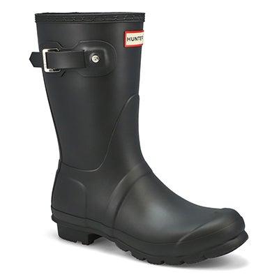 Lds Original Short Classic blk rain boot