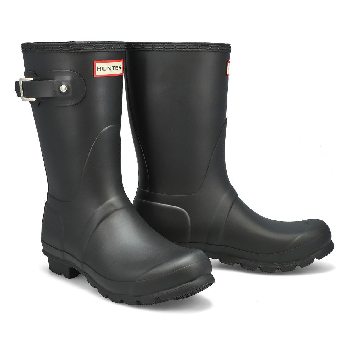 Women's Original Short Classic Rain Boot - Black