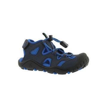 Toddlers' OYSTER 2 navy/strg blue fisherman sandal