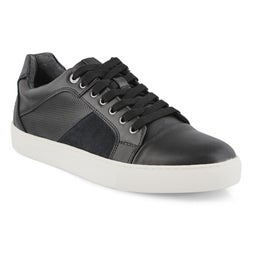 Mns P-Yardley blk lace up casual sneaker