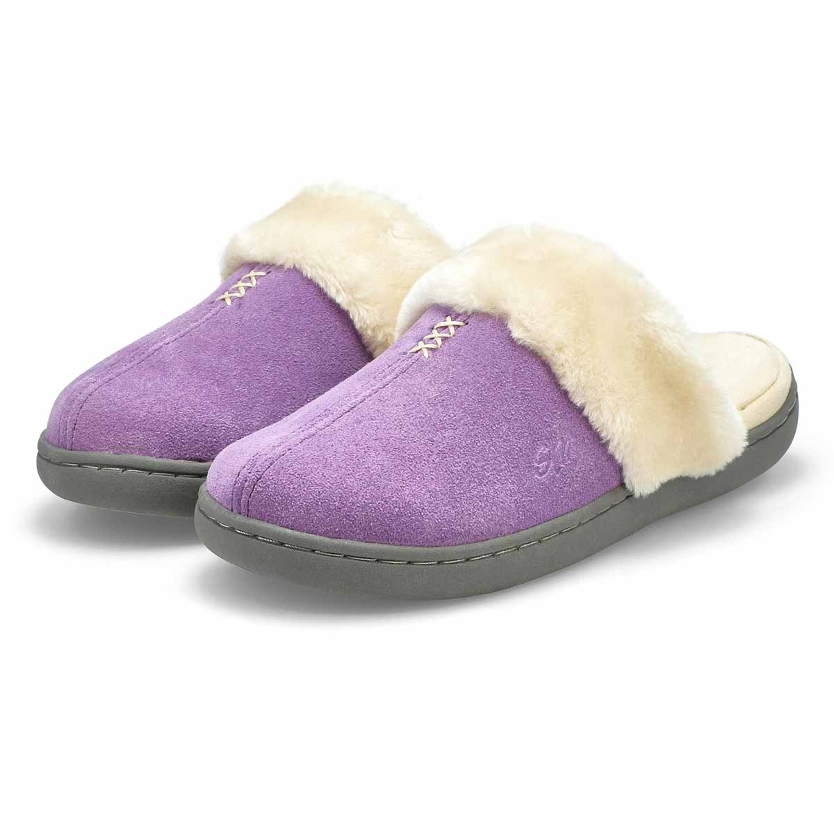 Women's Pauline Open Back Slipper - Lavender