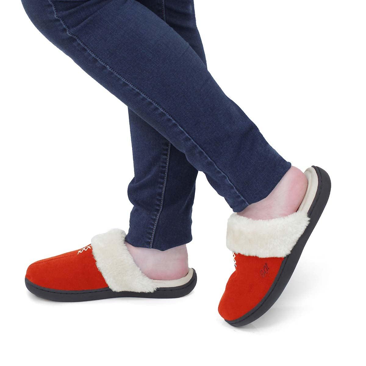 Women's Pauline Open Back Slipper - Red