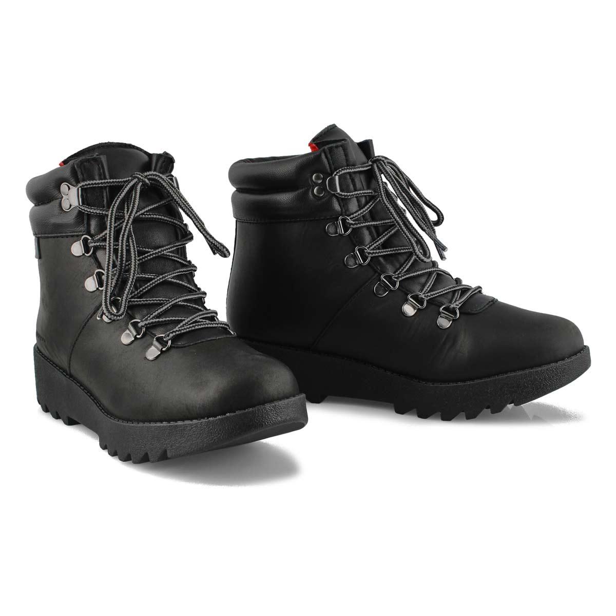 Women's PRESCOTT black waterproof winter boots