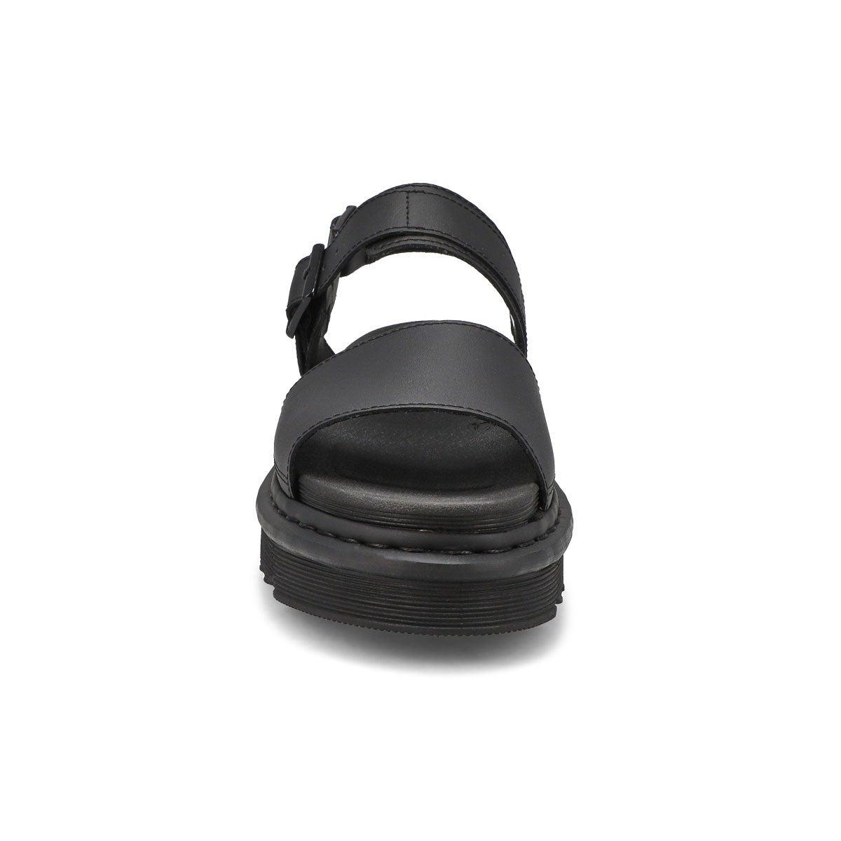 Sandales 2 brides VOSS, noir, femmes