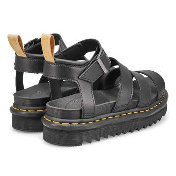 Sandales 4 brides VEGAN BLAIRE, noir, femmes