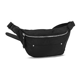 Roots Women's R5879 black fanny pack