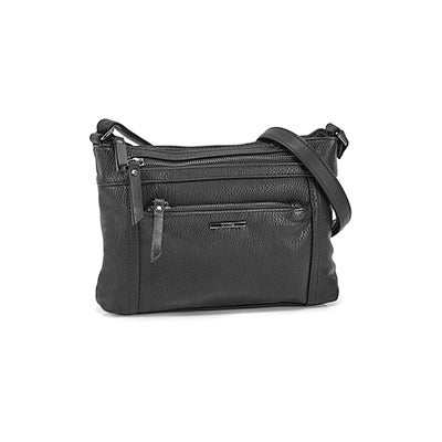 Roots Women's R5939 black cross body bag