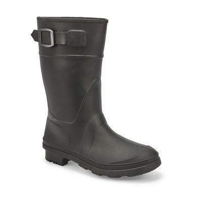 Bys Raindrops black wtpf rain boot