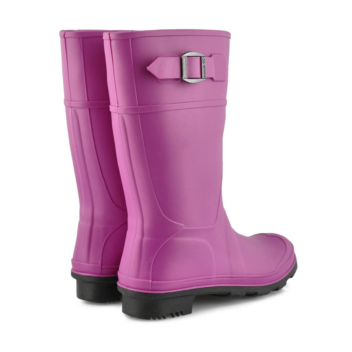 Girls' Raindrops Waterproof Rain Boot -  Viola