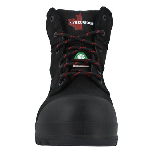 Mns Ranger blk lace up 6