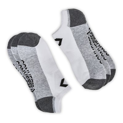 Converse Men's CONVERSE white/grey no show socks - 3 pack