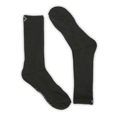 Converse Men's CONVERSE HALF CUSHION CREW blk socks