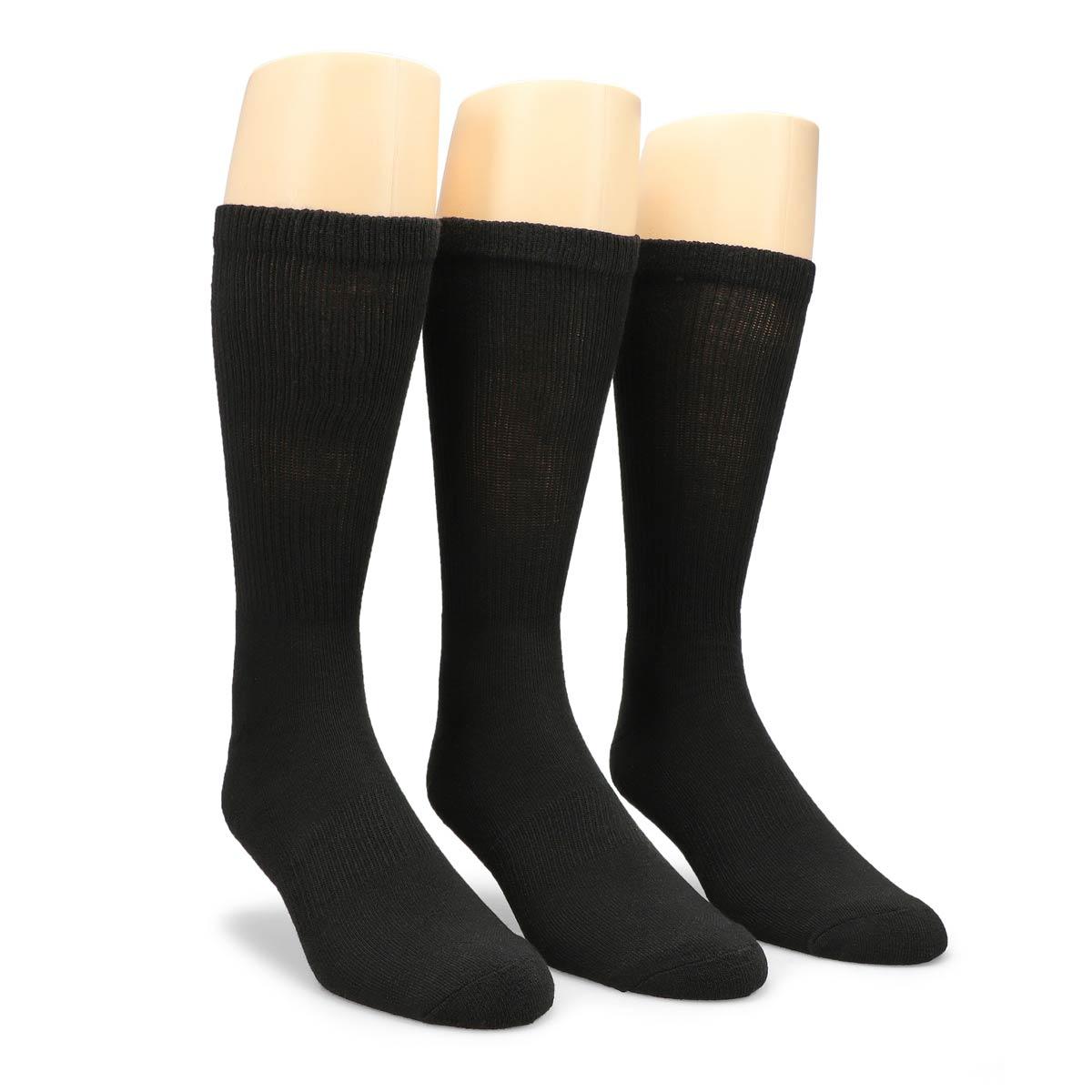 Men's Converse Half Cushion Crew Sock - Black