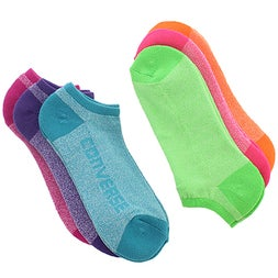 Lds Converse multi no show sock 6 pk
