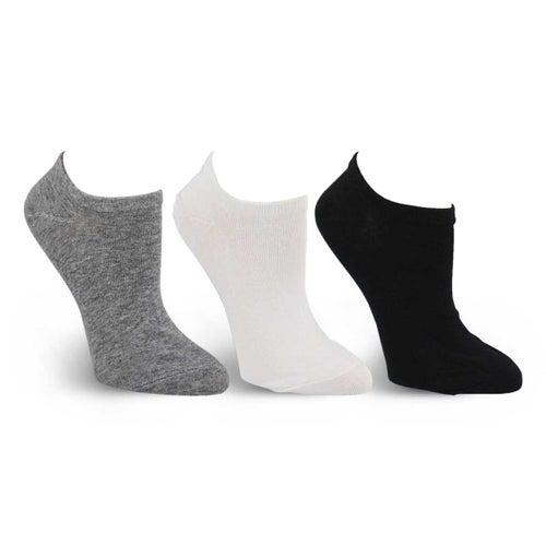 Chaussettes inv. Converse, assor, fem-3p