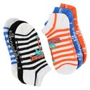 Converse Women's PALM STRIPE multi no show socks