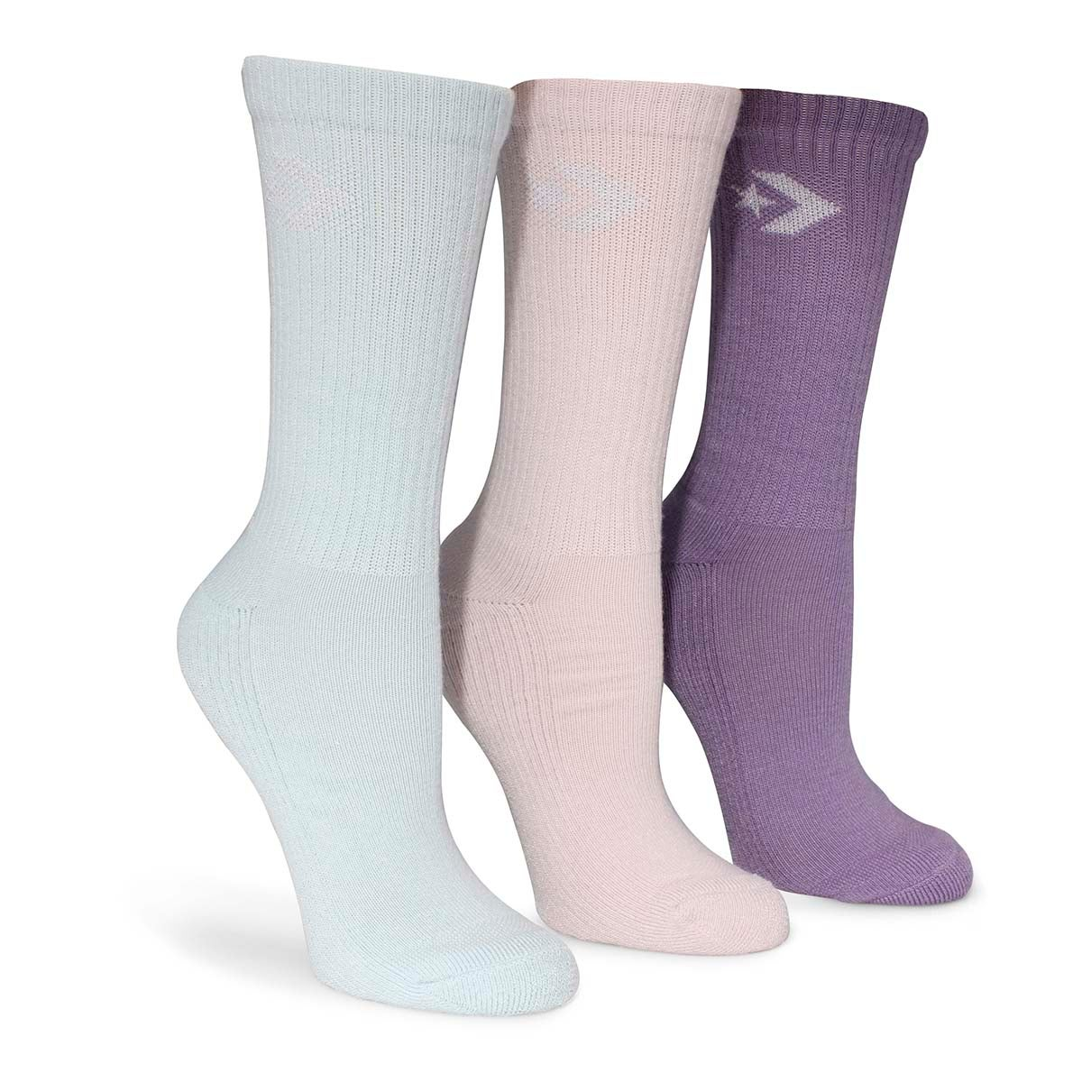 Socquettes CREW LUREX, multi, femmes - 3 paires