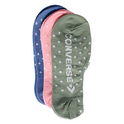 Lds Starry Converse multi sock 3 pk