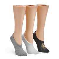 Women's MFC OX blk/wht/grey liners- 3pk